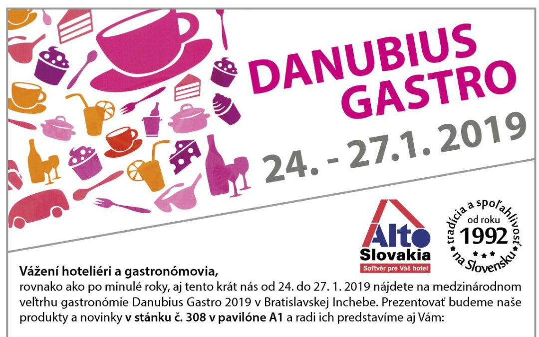 Pozvánka na DANUBIUS GASTRO 2019