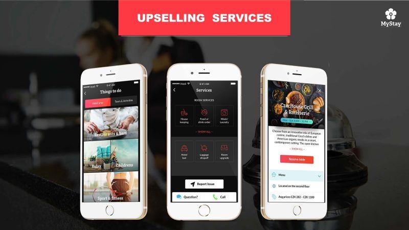 MyStay - Upselling services